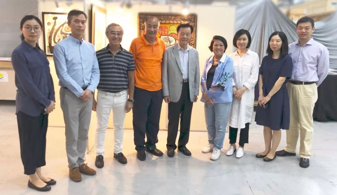 A Delegation Lead by Xu Rongmao Visited Lek Yuen Group in Hong Kong